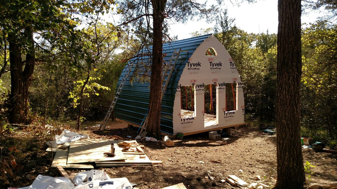 Arched Cabins Fantastic Affordable Simple Living
