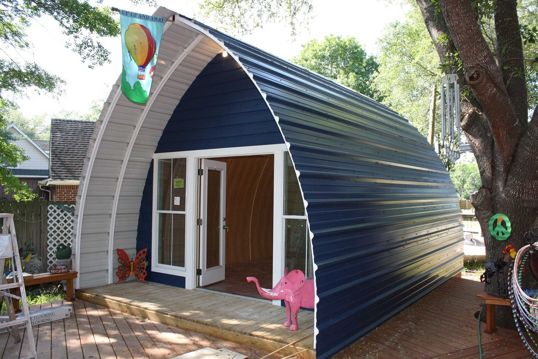 Arched Cabins - Fantastic Affordable Simple Living