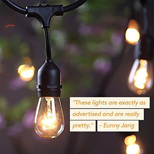 outdoor string lights vintage industrial brightech ambience pro waterproof outdoor string lights hanging vintage