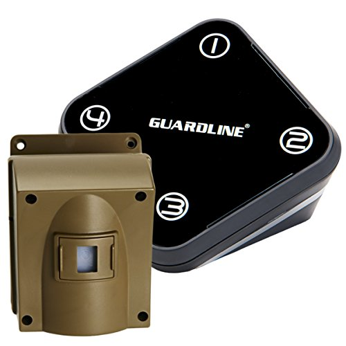 Guardline Wireless Driveway Alarm Outdoor Weather ...