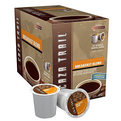 Caza Trail Coffee Single Serve Coffee Cup For Keurig K Cup Brewers