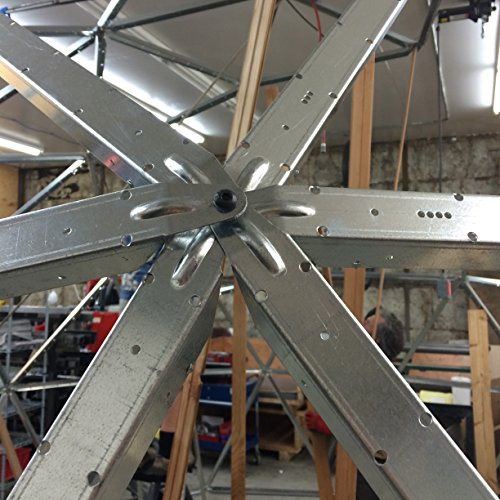 Dome Home Kits And Plans: 18 Foot Diameter Geodesic Dome Frame Kit