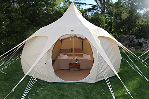 Lotus Belle 13ft Outback Yurt Tent Perfect For Glamping