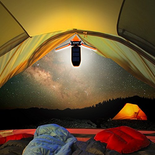 SUAOKI Collapsible ... & SUAOKI Collapsible Clover Style 18 Led Brightest Camping Tent ...