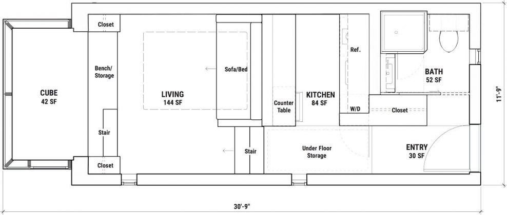 Kasita Independent - Floorplan