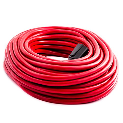 Otimo 100 ft 12/3 SJTW Outdoor Heavy Duty Extension Cord - Professional  Series - 3 Prong Extension Cord, Red - TAG Level