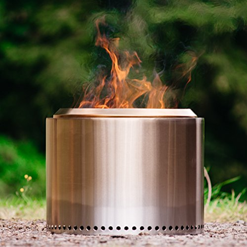 Solo Stove Bonfire Fire Pit Large 19 5 Inch Stainless
