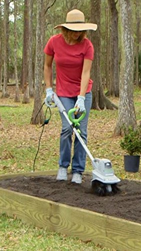 Earthwise 11 Inch 8 5 Amp Corded Electric Tiller