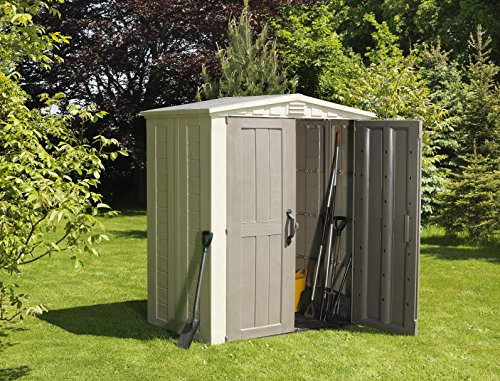 Keter Factor 6x3 Outdoor Storage Shed Kit-Perfect to Store ...