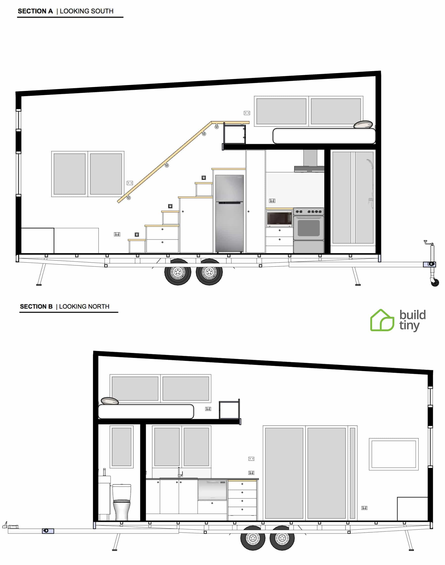 TAG Level - Tiny House with Removable Trailer