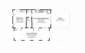 Santa Barbara - Tiny House Floor Plans - TAG Level