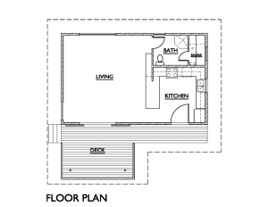 Pearlson - tiny house floor plans - TAG Level